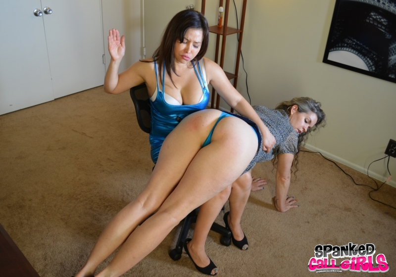 Topic simply Mom being spank