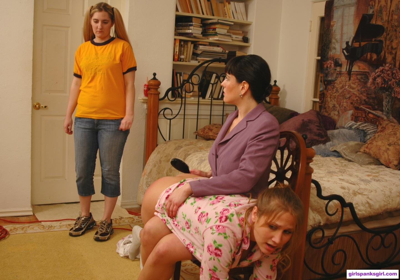 Diaper punishment spanked otk mom amusing