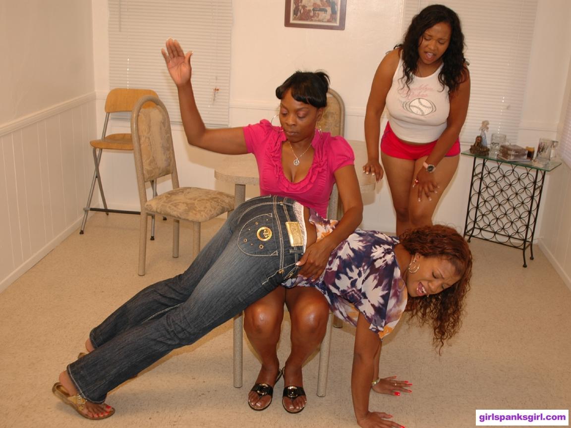 Ebony women double penetration