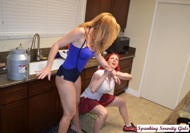 girl ass spank